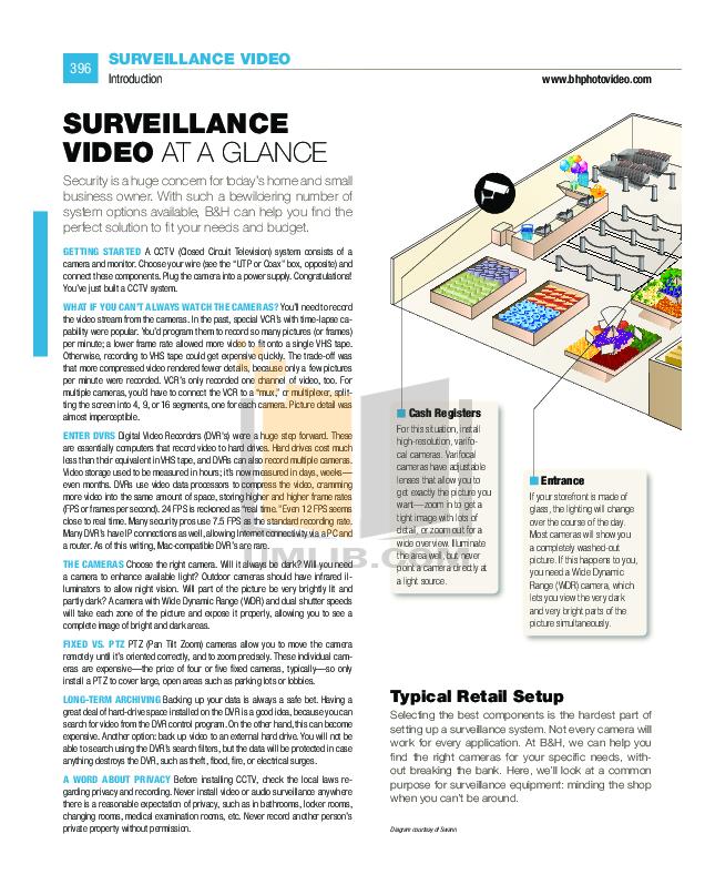 pdf for EverFocus Security Camera EQ550 manual