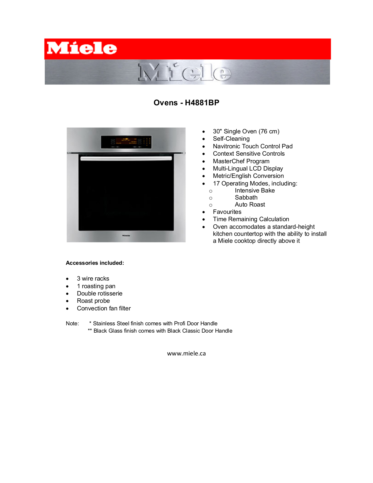 Download Miele Owner Manual