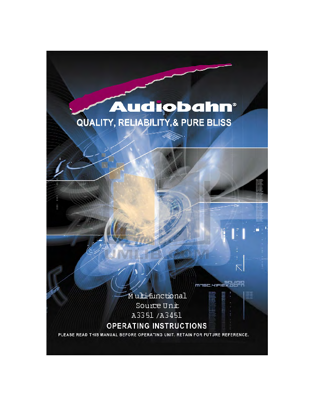 download free pdf for audiobahn a3351 car receiver manual rh umlib com 10 Inch Audiobahn Subwoofers Audiobahn Subwoofers