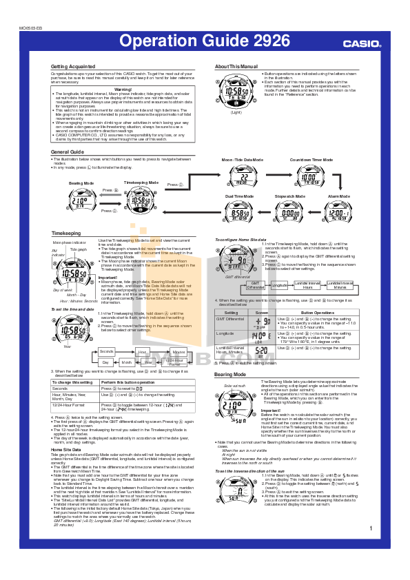 casio edifice efe 500 manual pdf
