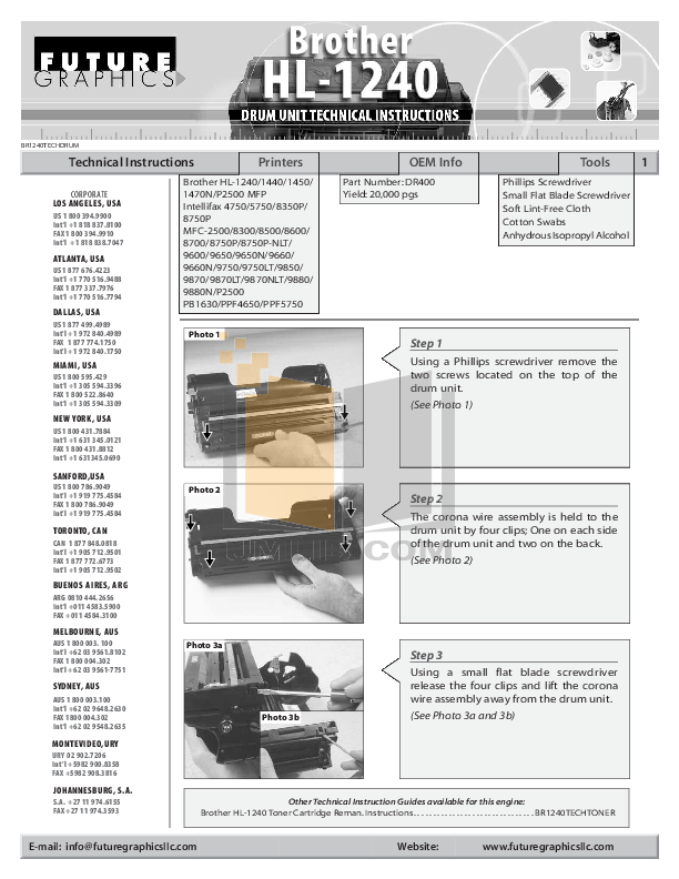 pdf for Brother Fax Machine IntelliFAX 4750 manual