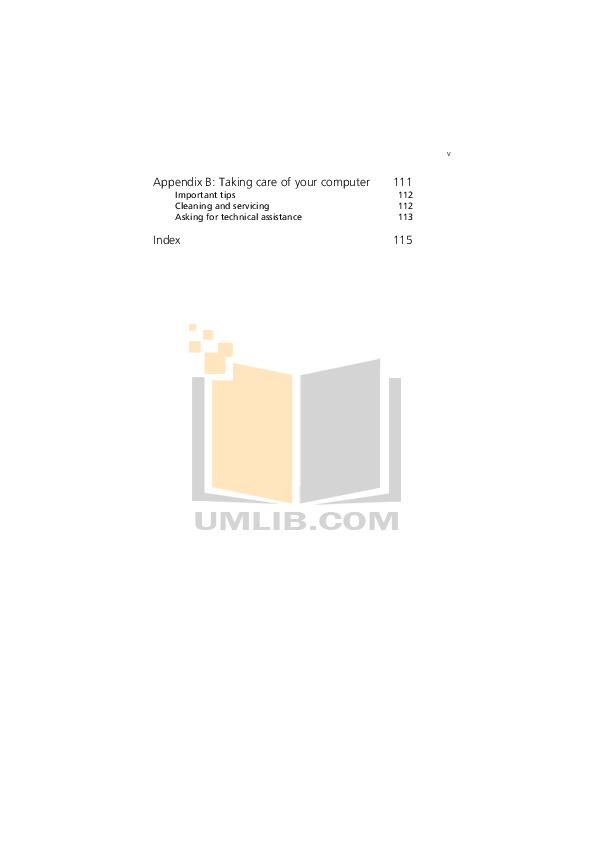 Acer Desktop Veriton 7200 pdf page preview