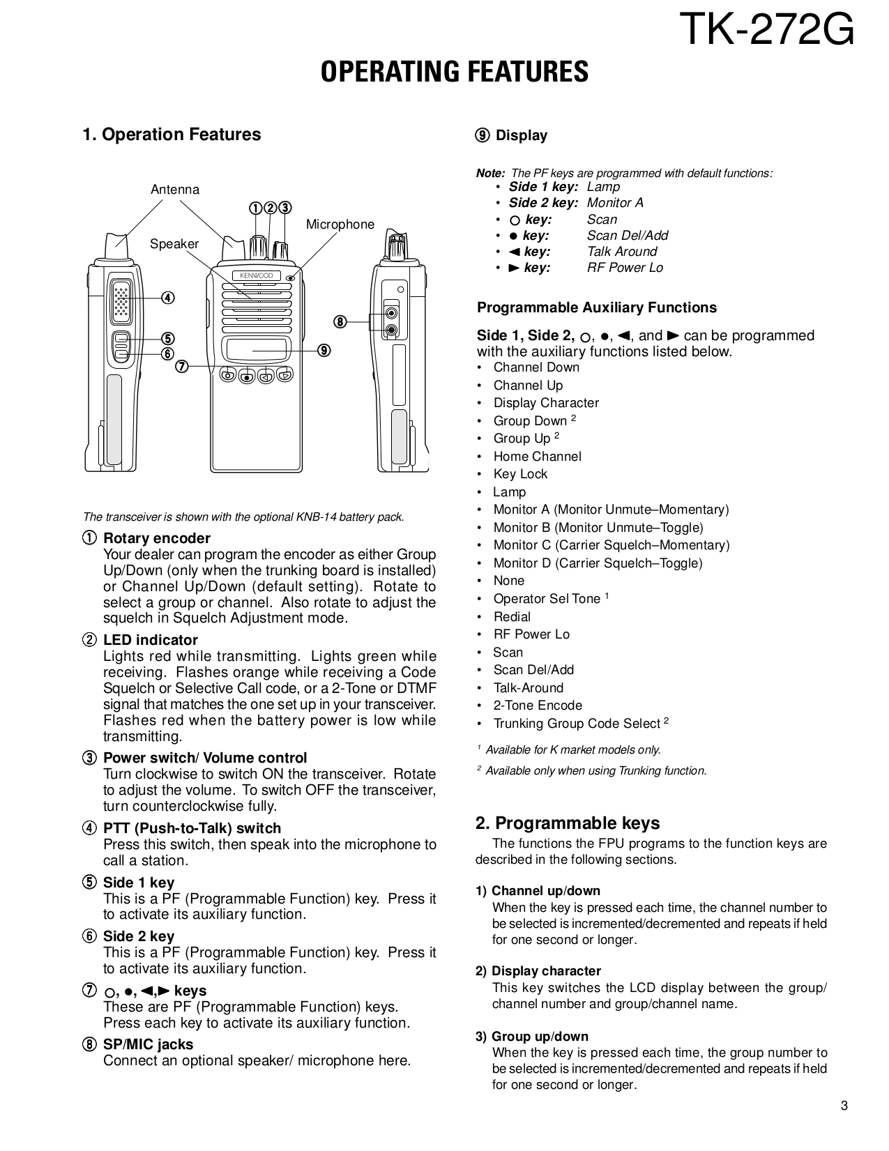 ... Kenwood Receiver VR-509 pdf page preview ...