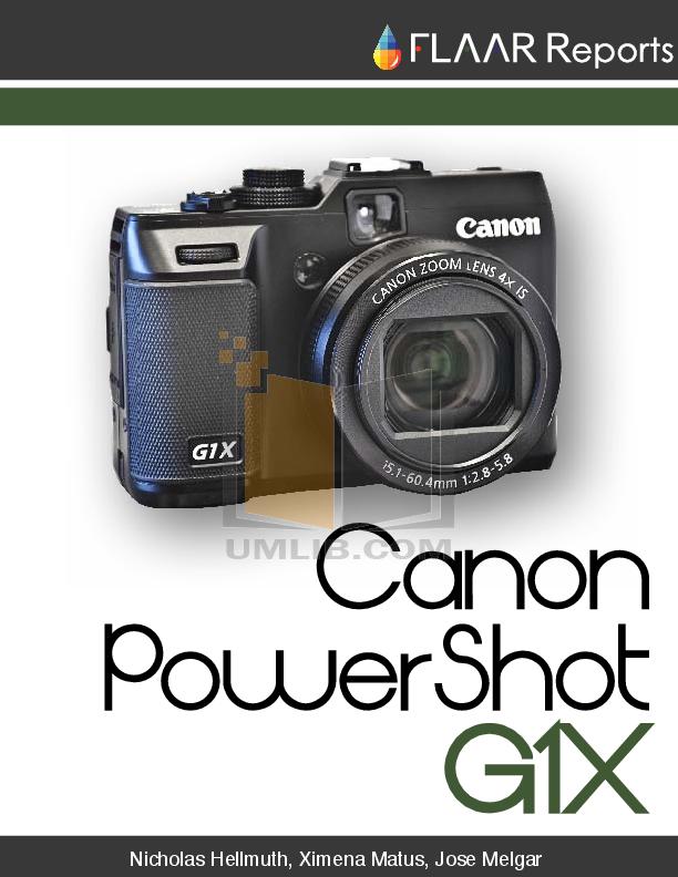 download free pdf for canon powershot g1x digital camera manual rh umlib com canon g1x manual in word canon g1x manual focus