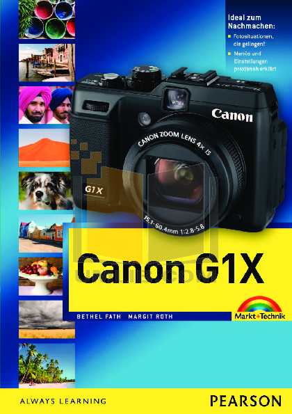 Canon Digital Camera Powershot G1X pdf page preview