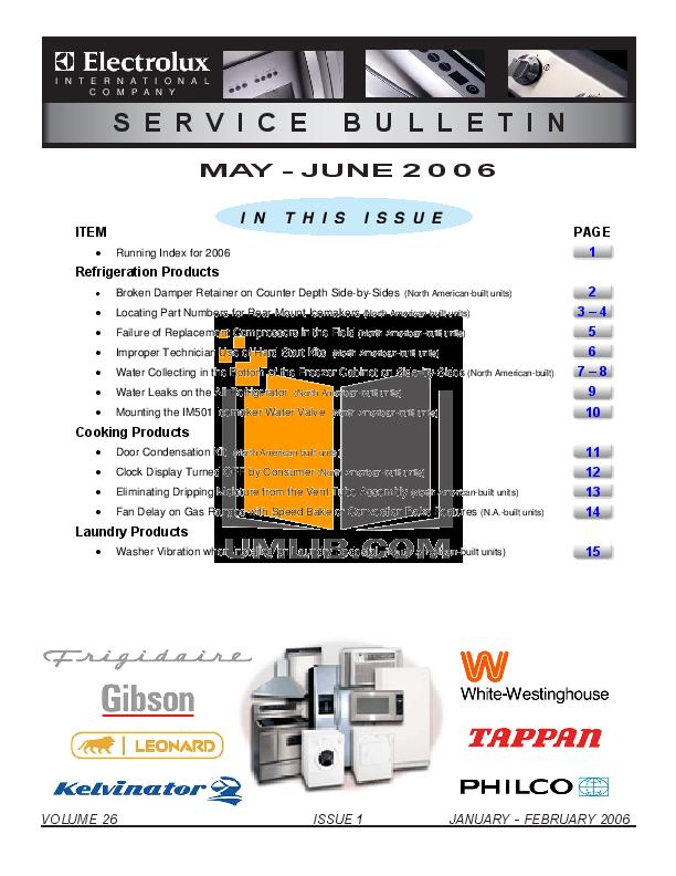 pdf for Frigidaire Refrigerator PLRU1778ES0 manual