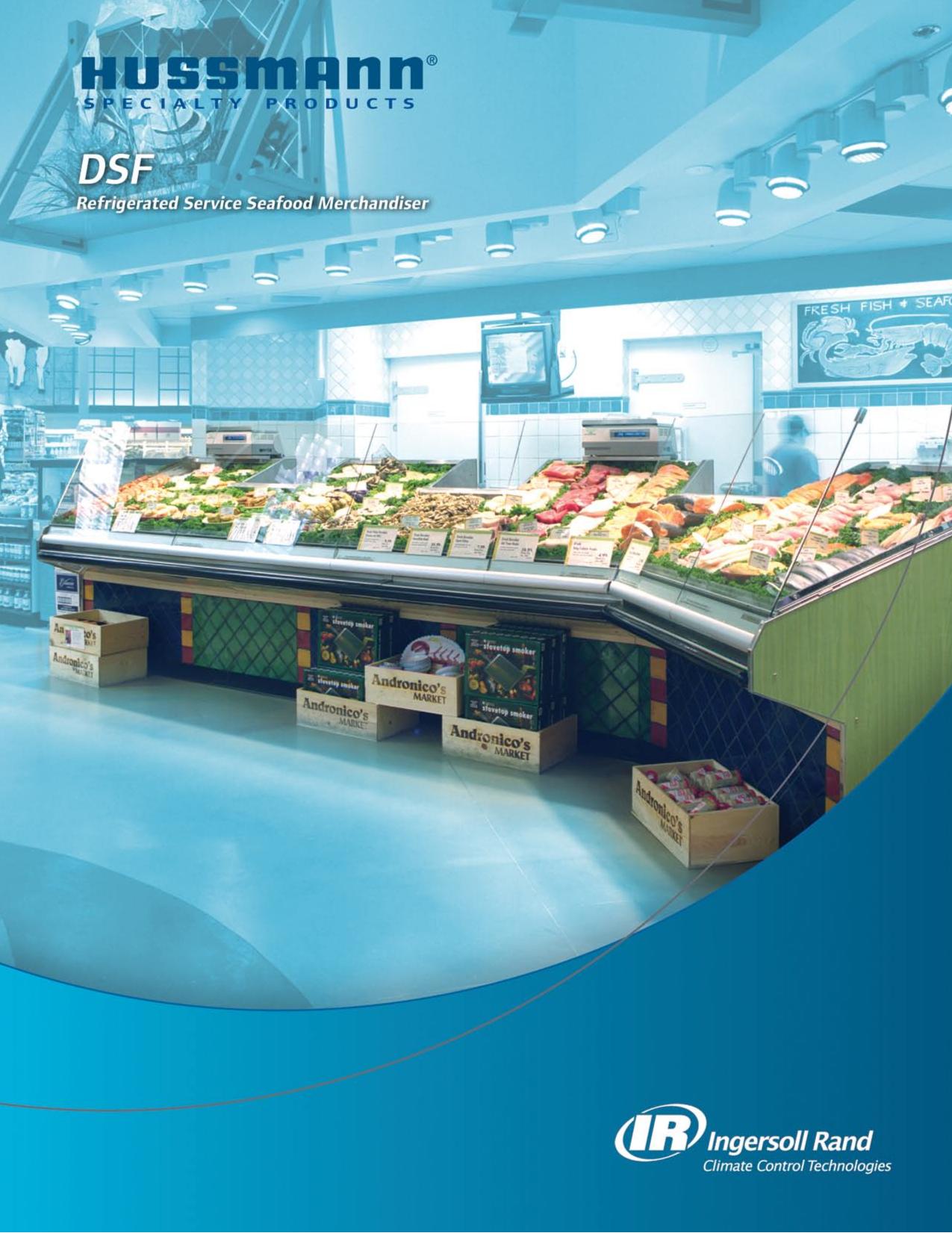 pdf for Hussmann Other DSFM Merchandisers manual