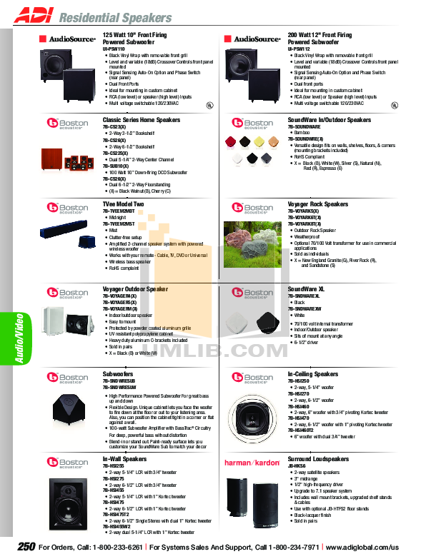 Aiphone Other YAW-R Intercoms-Accessory pdf page preview