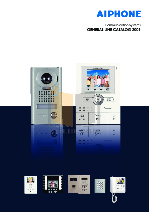 pdf for Aiphone Other YAW-R Intercoms-Accessory manual