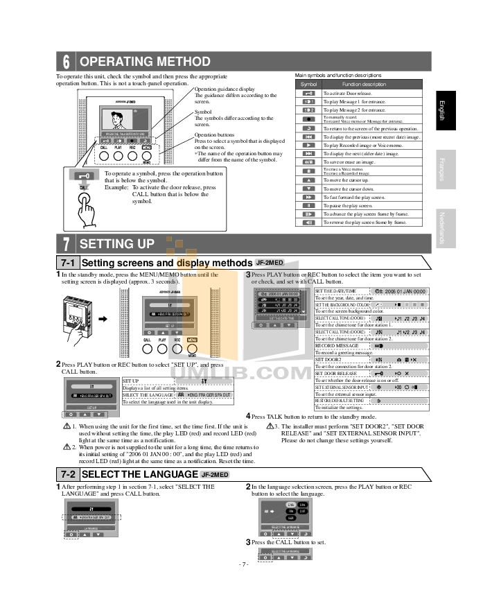 Pdf Manual For Aiphone Other Lef