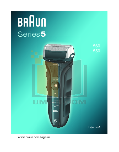 pdf manual for braun other series 5 560 shavers braun series 5 instruction manual braun series 5 user manual