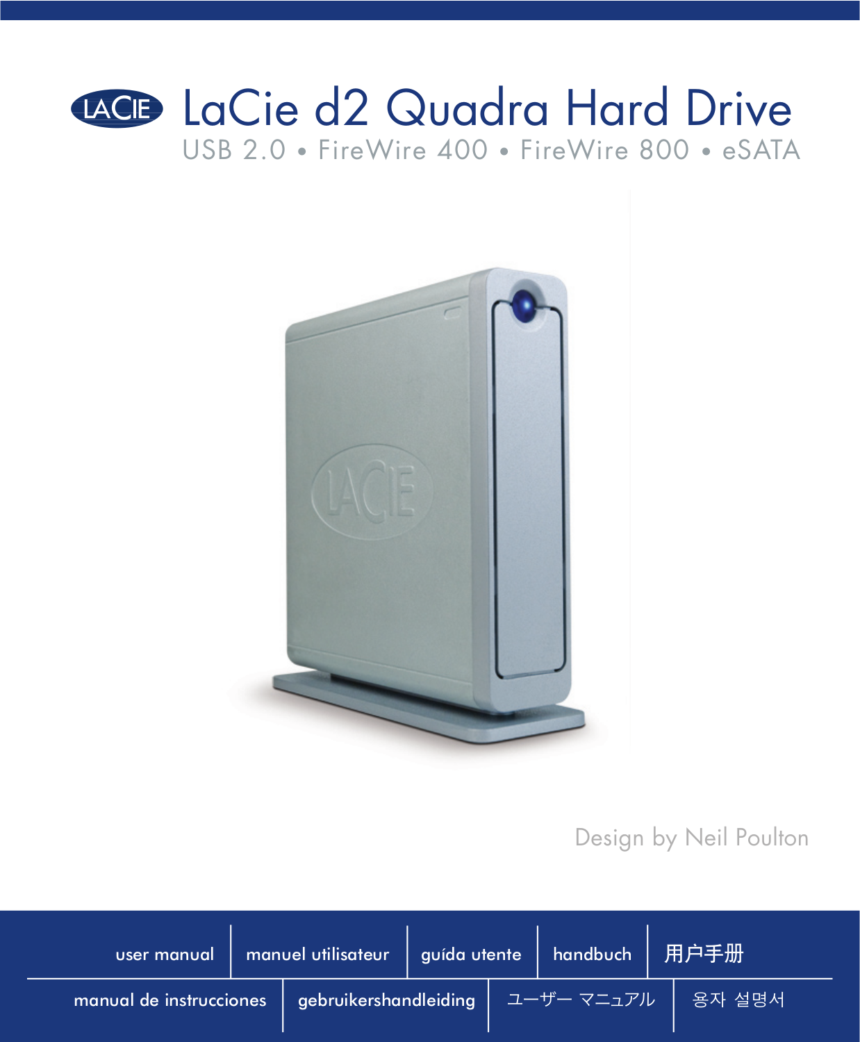pdf for LaCie Storage 301998 manual