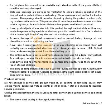 Acer Desktop Aspire Z3101 pdf page preview
