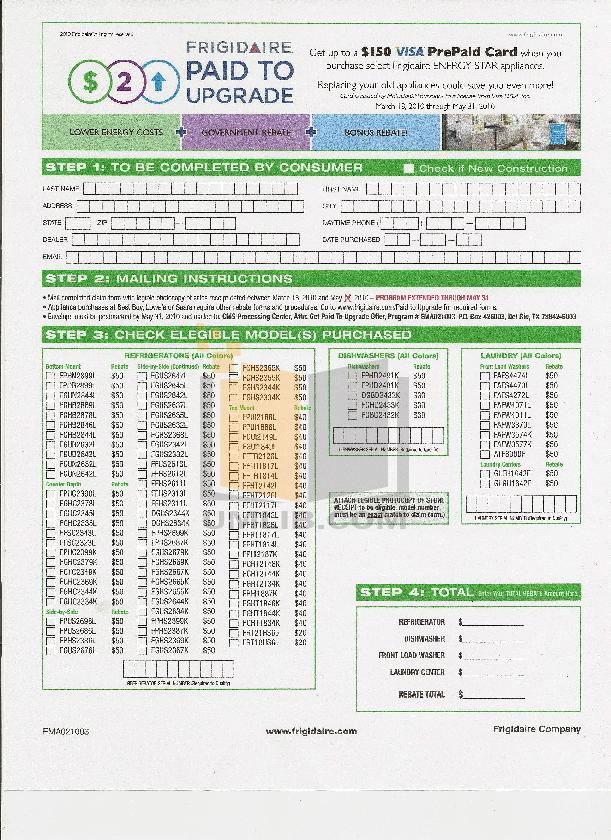 pdf for Frigidaire Refrigerator FFTR1814L manual