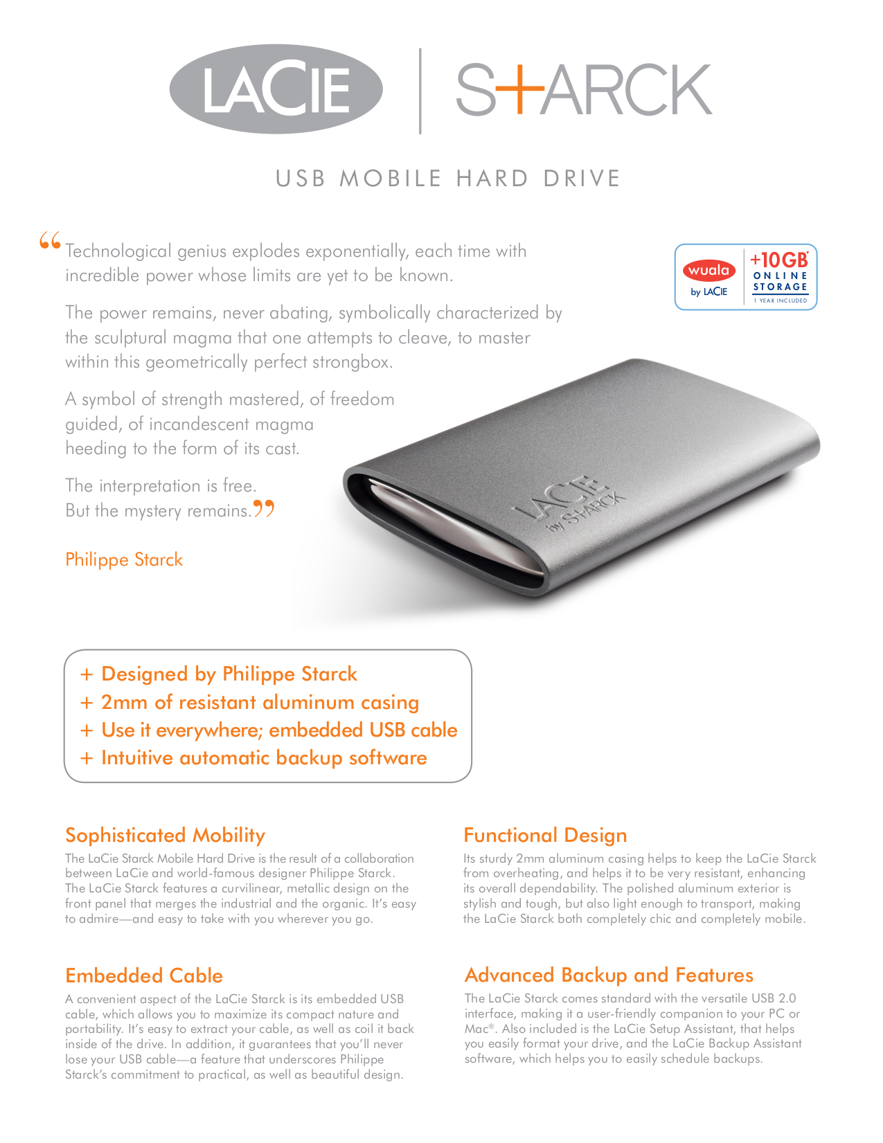 pdf for LaCie Storage 301891 manual