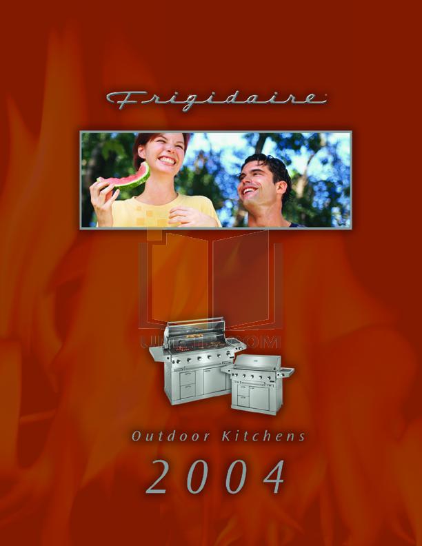 pdf for Frigidaire Grill FD26NGDC manual
