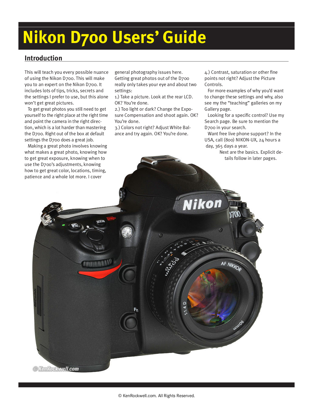 d700 user guide various owner manual guide u2022 rh justk co nikon d700 quick user guide D700 Post