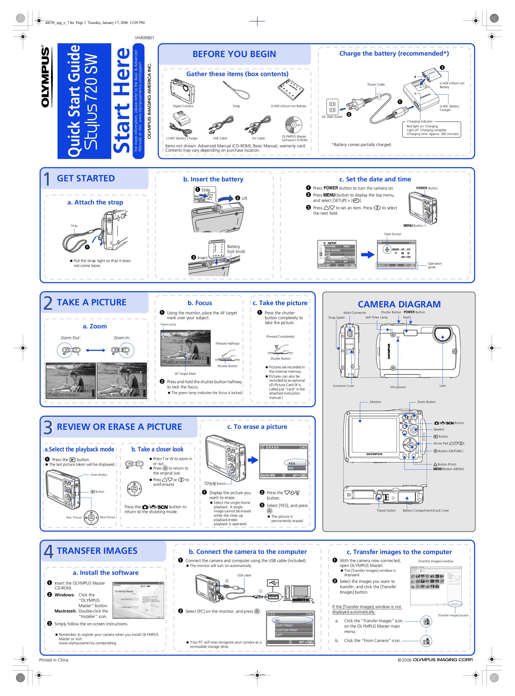download free pdf for olympus stylus 720 sw digital camera manual rh umlib com Olympus Camera 720 Olympus Stylus 720 SW Driver