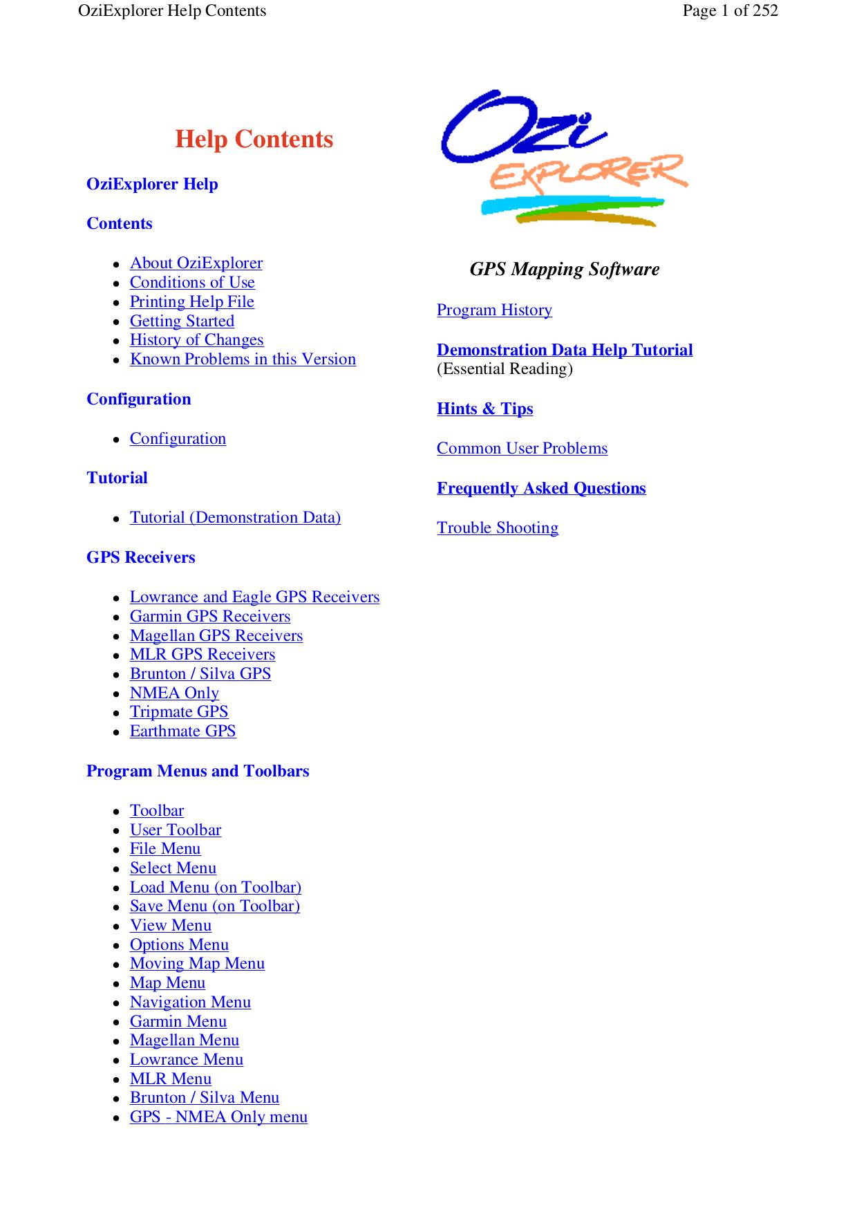 pdf for Lowrance GPS iFINDER Explorer manual