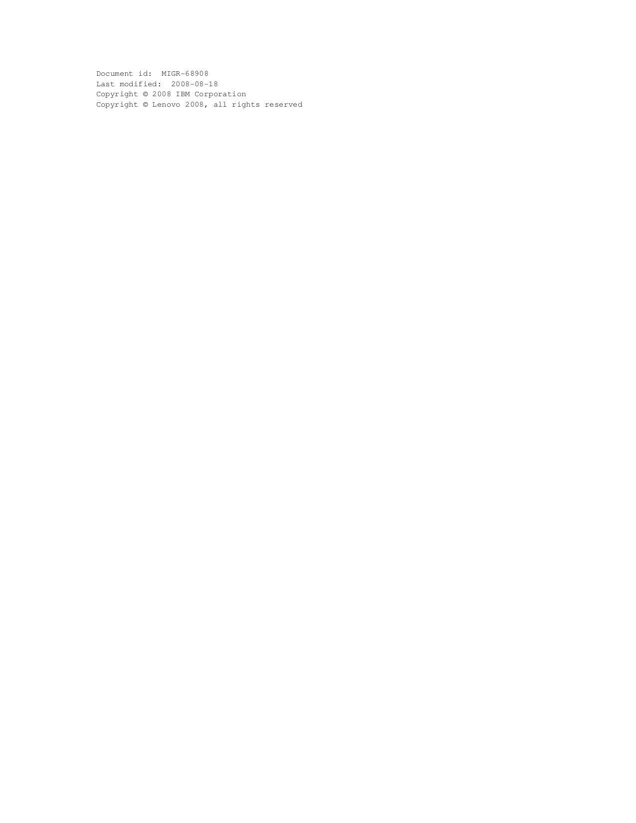 Lenovo Desktop ThinkCentre A61 9134 pdf page preview