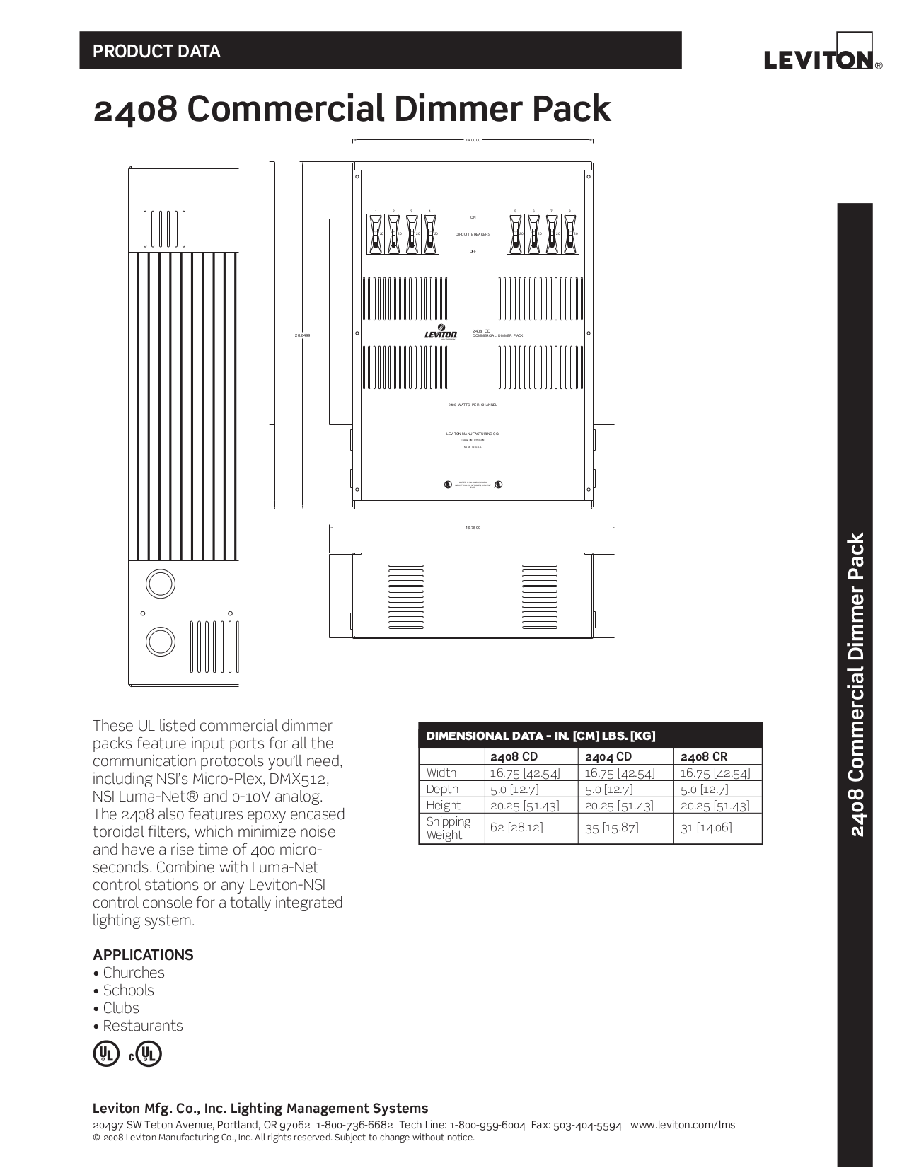 download free pdf for leviton 2408cd dimmers other manual
