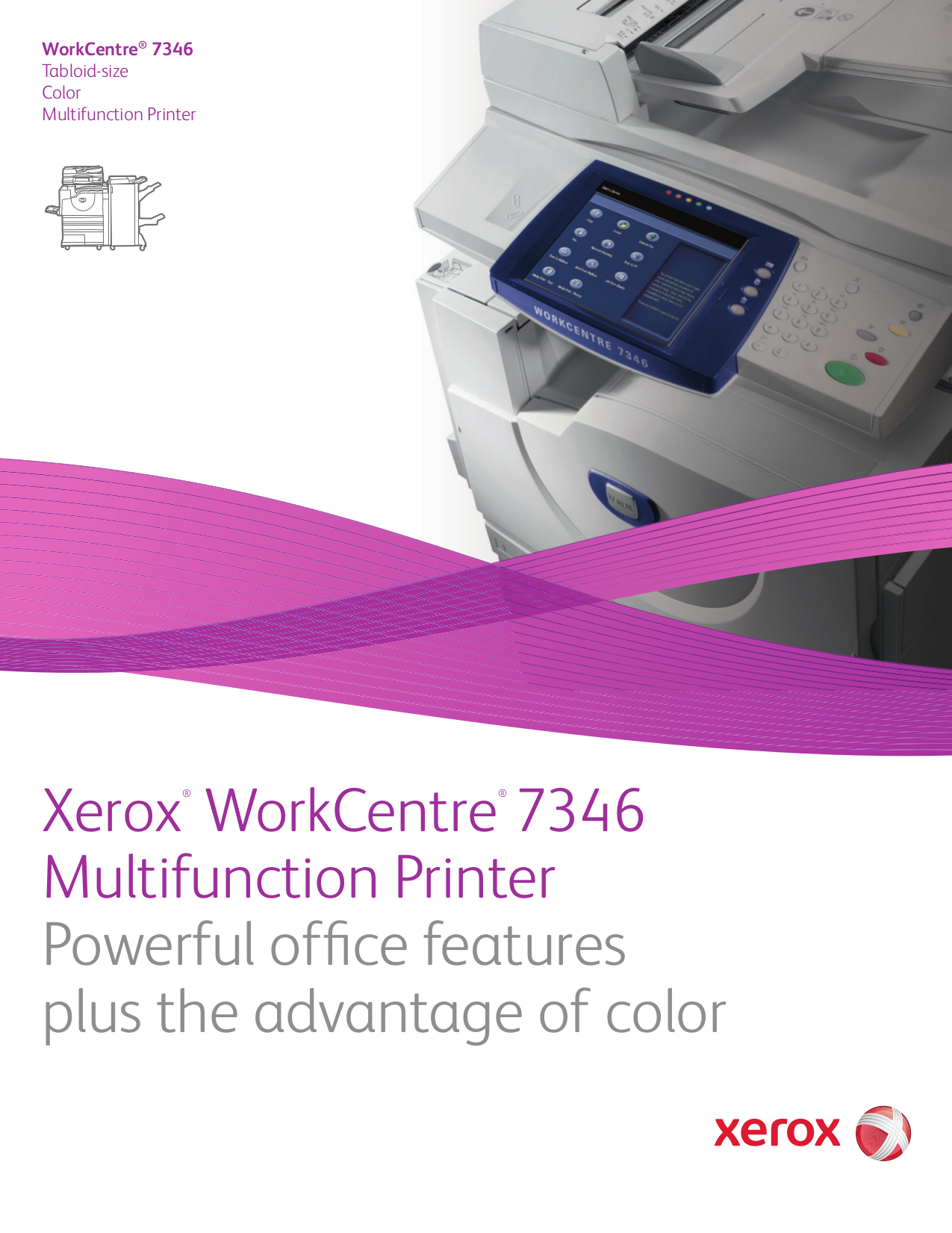 pdf for Xerox Multifunction Printer WorkCentre 7345 manual
