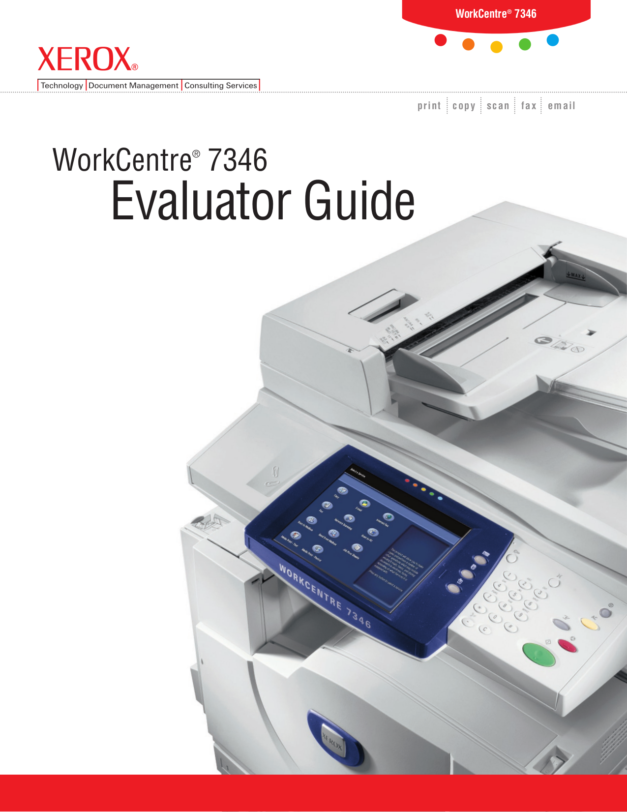 download free pdf for xerox workcentre 7345 multifunction printer manual rh umlib com xerox workcentre 7345 user manual xerox workcentre 7345 service manual pdf free download