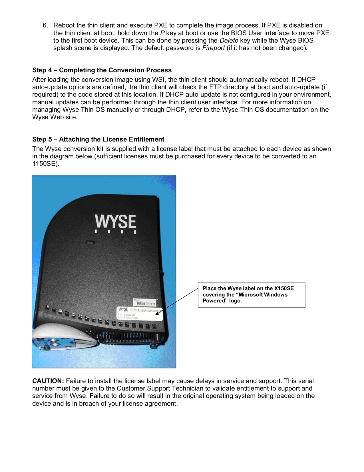 PDF manual for Wyse Desktop Winterm 3150SE