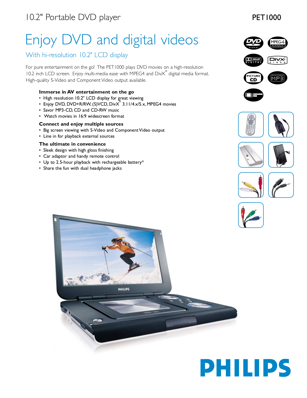download free pdf for philips pet1000 portable dvd player manual rh umlib com Philips DVD Player Troubleshooting Philips DVD Player with USB