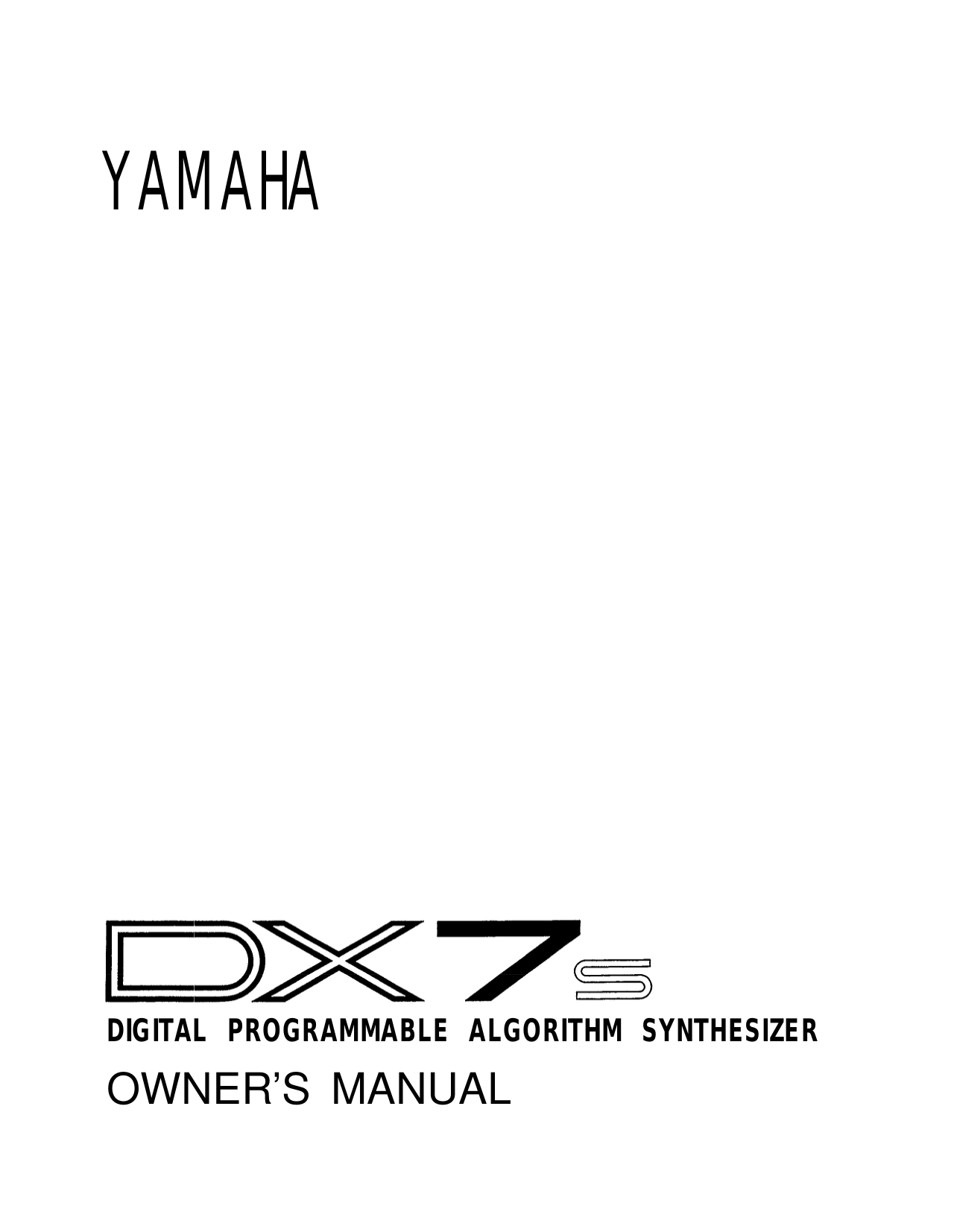download free pdf for yamaha fs