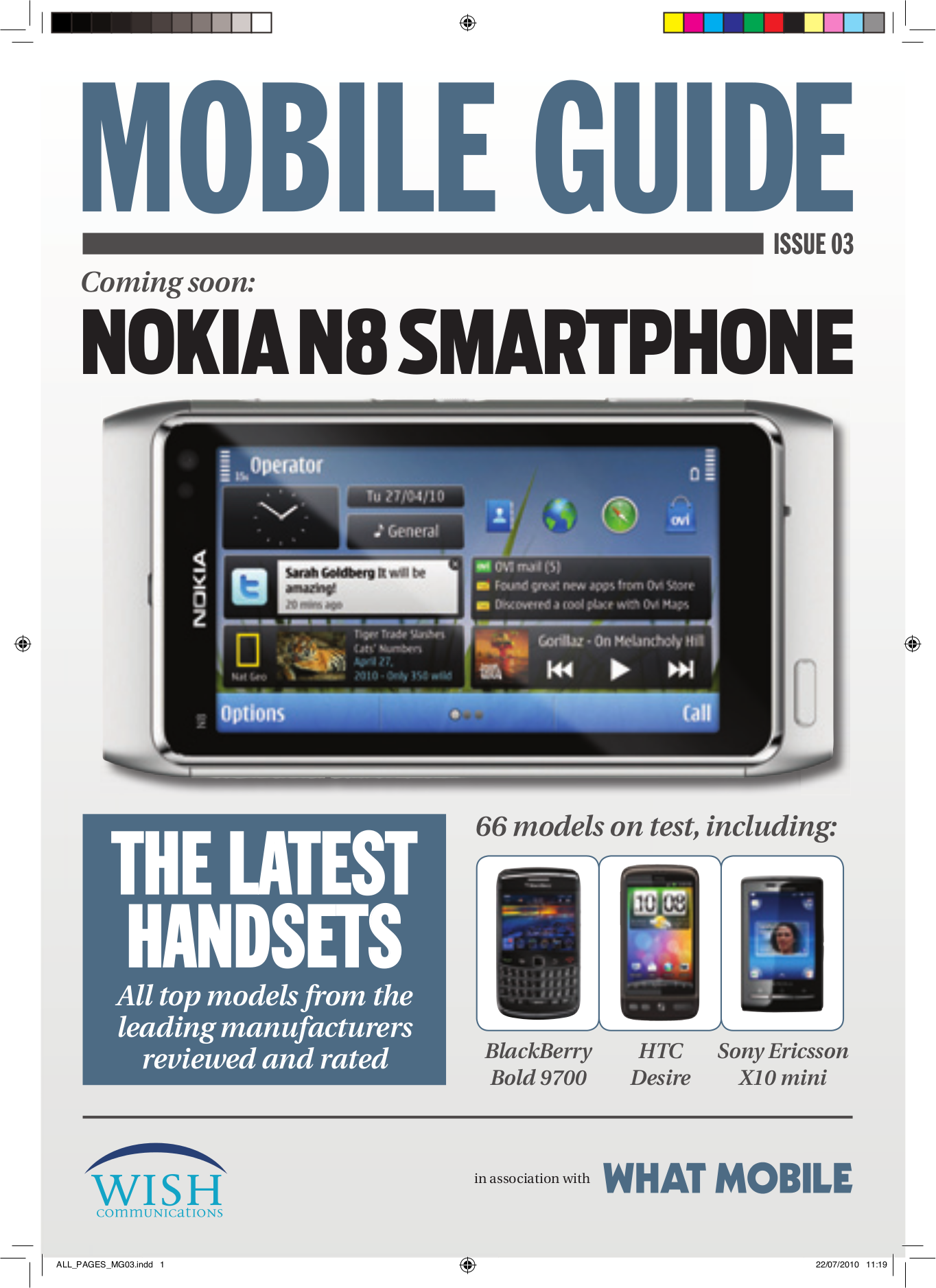 pdf for Nokia Cell Phone N97 mini manual