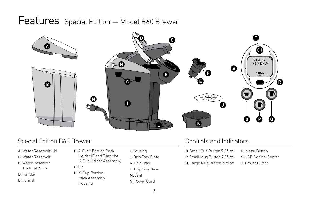 Keurig Coffee Maker Instructions Prime : PDF manual for Keurig Coffee Maker B60
