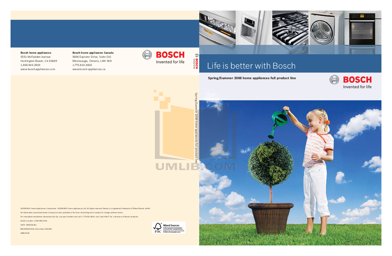 pdf for Bosch Dryer Axxis WTE86300US manual