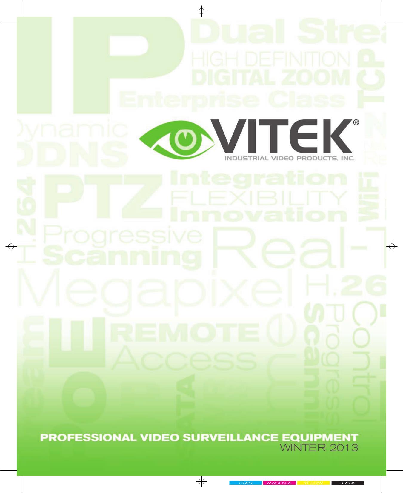 pdf for Vitek Security Camera VTC-C770WS manual