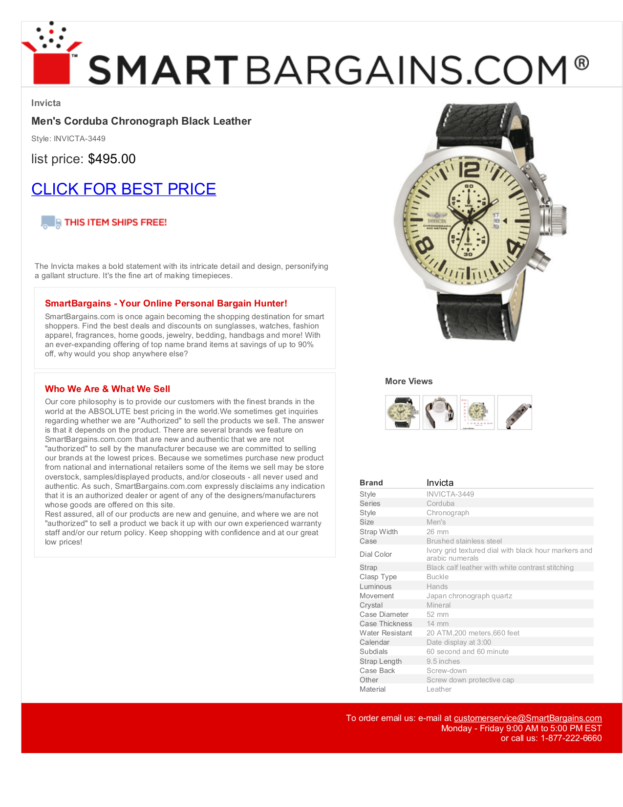 Invicta Corduba 3449 Invicta Watch Corduba 3449 Pdf
