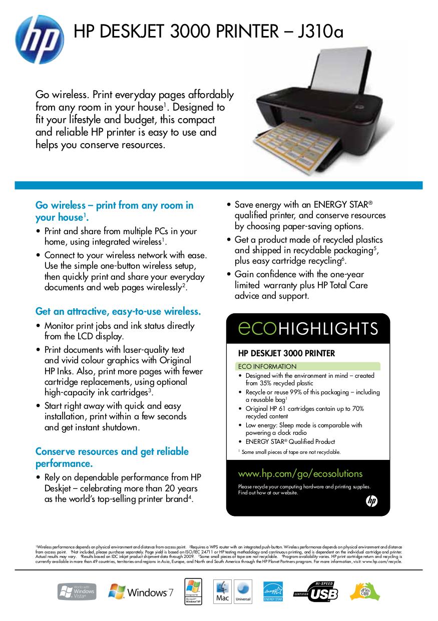 download free pdf for hp deskjet 3000 printer manual rh umlib com HP Deskjet 3000 Setup Guide HP 3000 Printer Ink