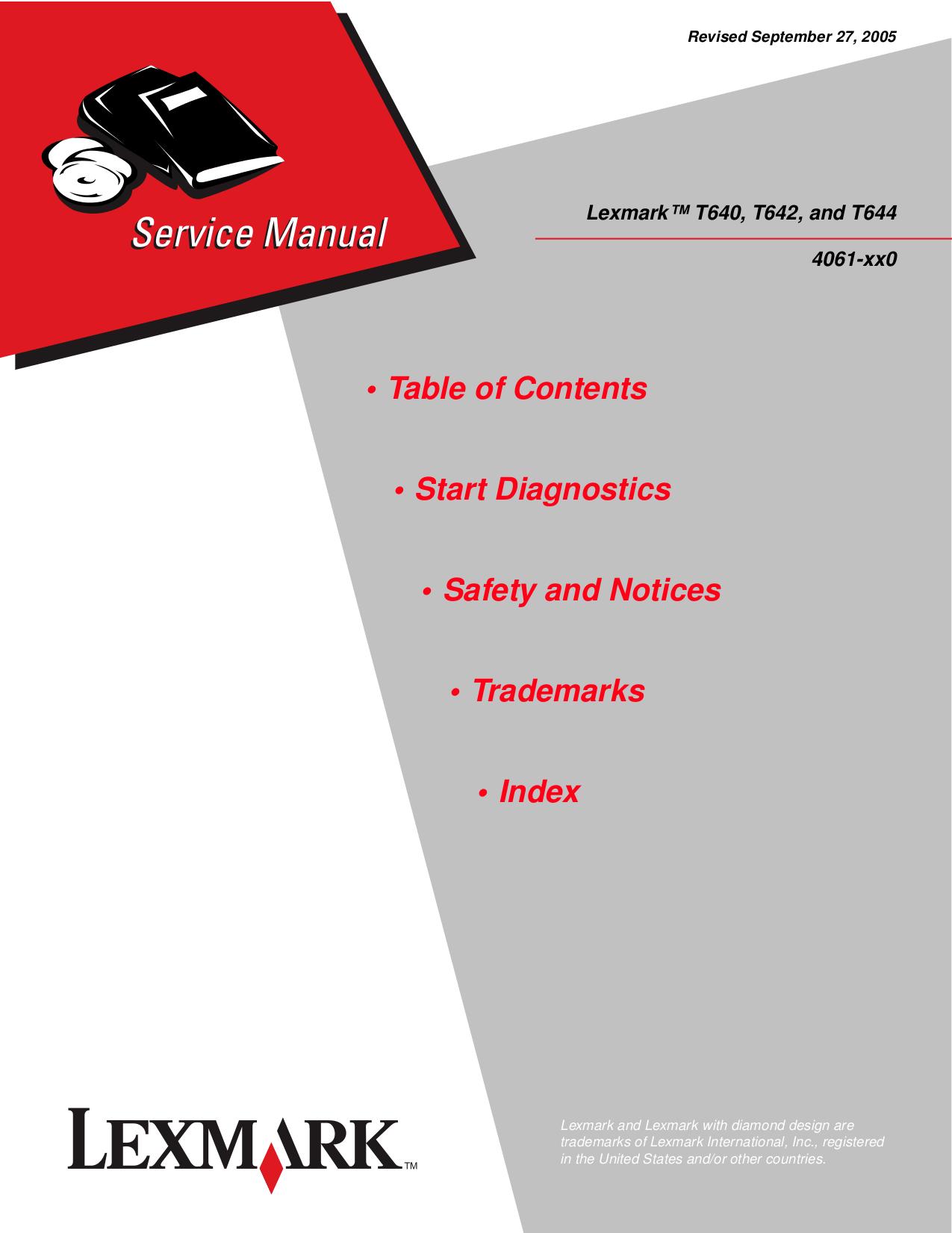pdf for Lexmark Printer P315 manual