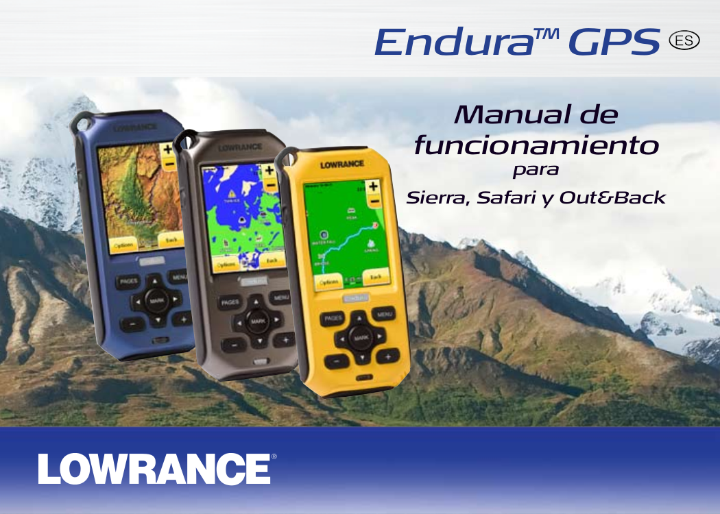 pdf for Lowrance GPS Endura Safari manual