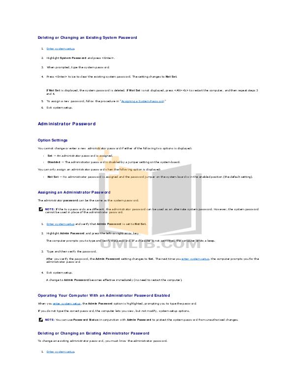 pdf manual for dell desktop optiplex 980 mt rh umlib com User Guides Samples Instruction Manual Example