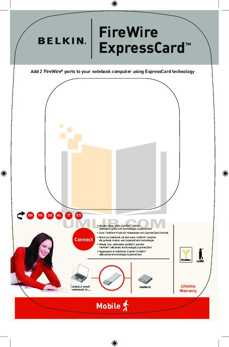 pdf for Belkin Router F5U250ea manual