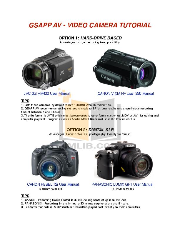 download free pdf for canon vixia hf s20 camcorders manual rh umlib com canon legria hf s20 manual pdf canon vixia hf s20 software download