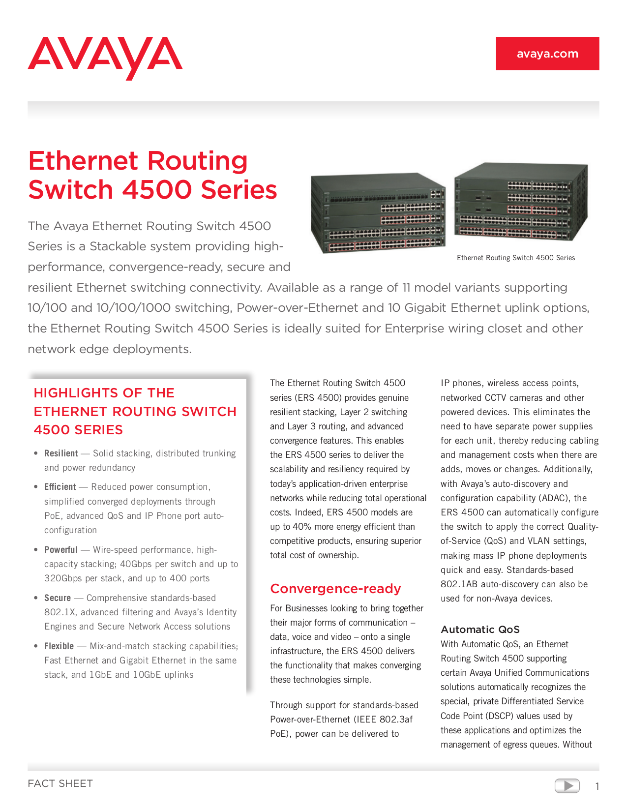 pdf for Nortel Switch 4526T manual