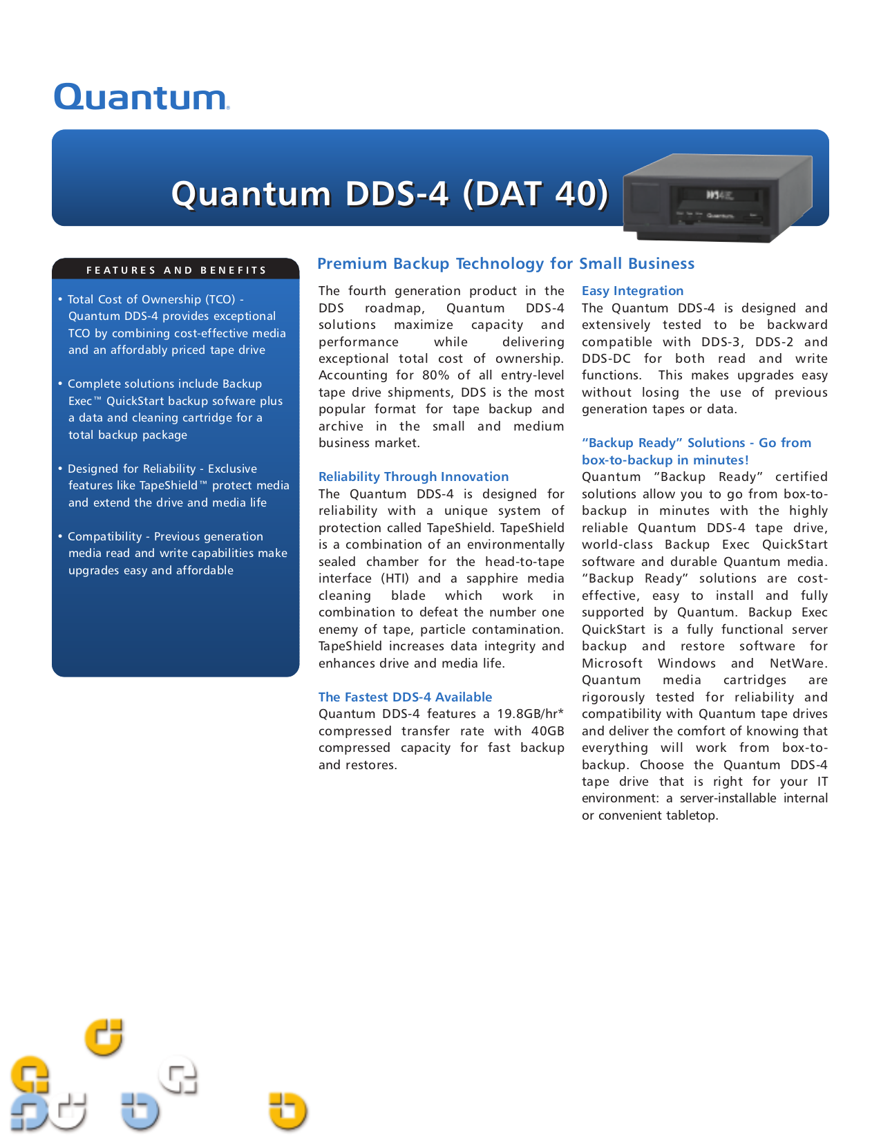 pdf for Quantum Storage SuperLoader DLT manual