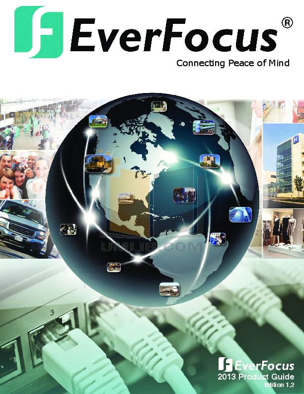 pdf for EverFocus Security Camera ED610 manual