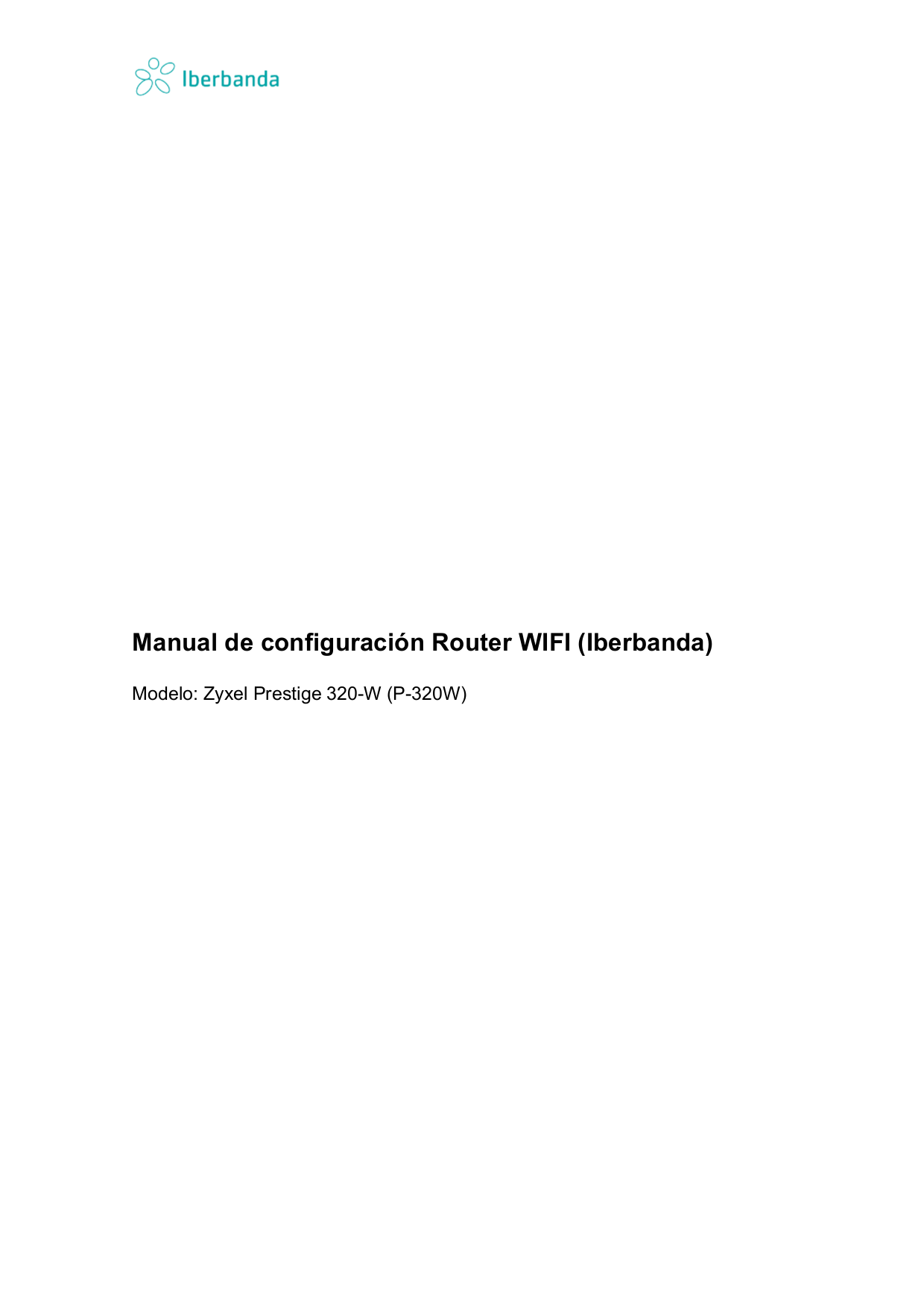 pdf for Zyxel Wireless Router P-320W manual