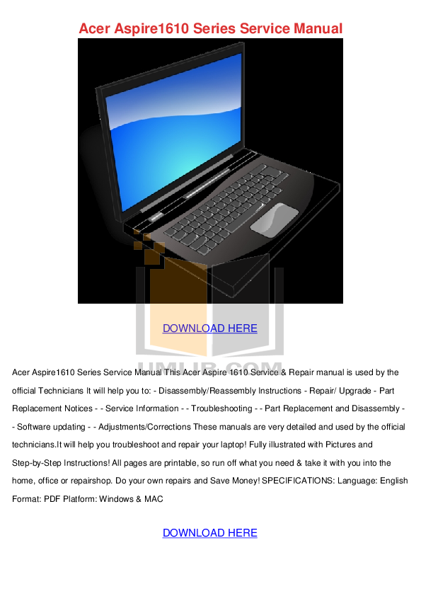 download free pdf for acer aspire 5610z laptop manual rh umlib com acer aspire 5610 manual acer aspire 5610 manual pdf