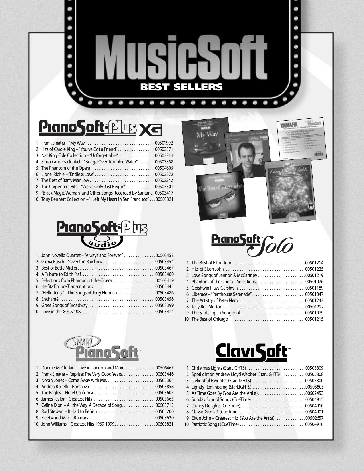 pdf for Yamaha Music Keyboard CLP-230 manual