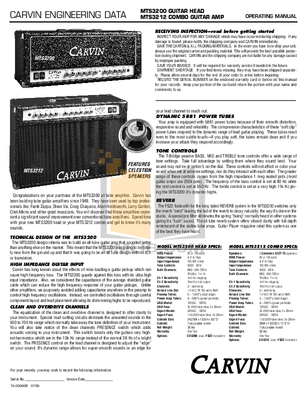 The Tube Amp Book Pdf - strongwindian