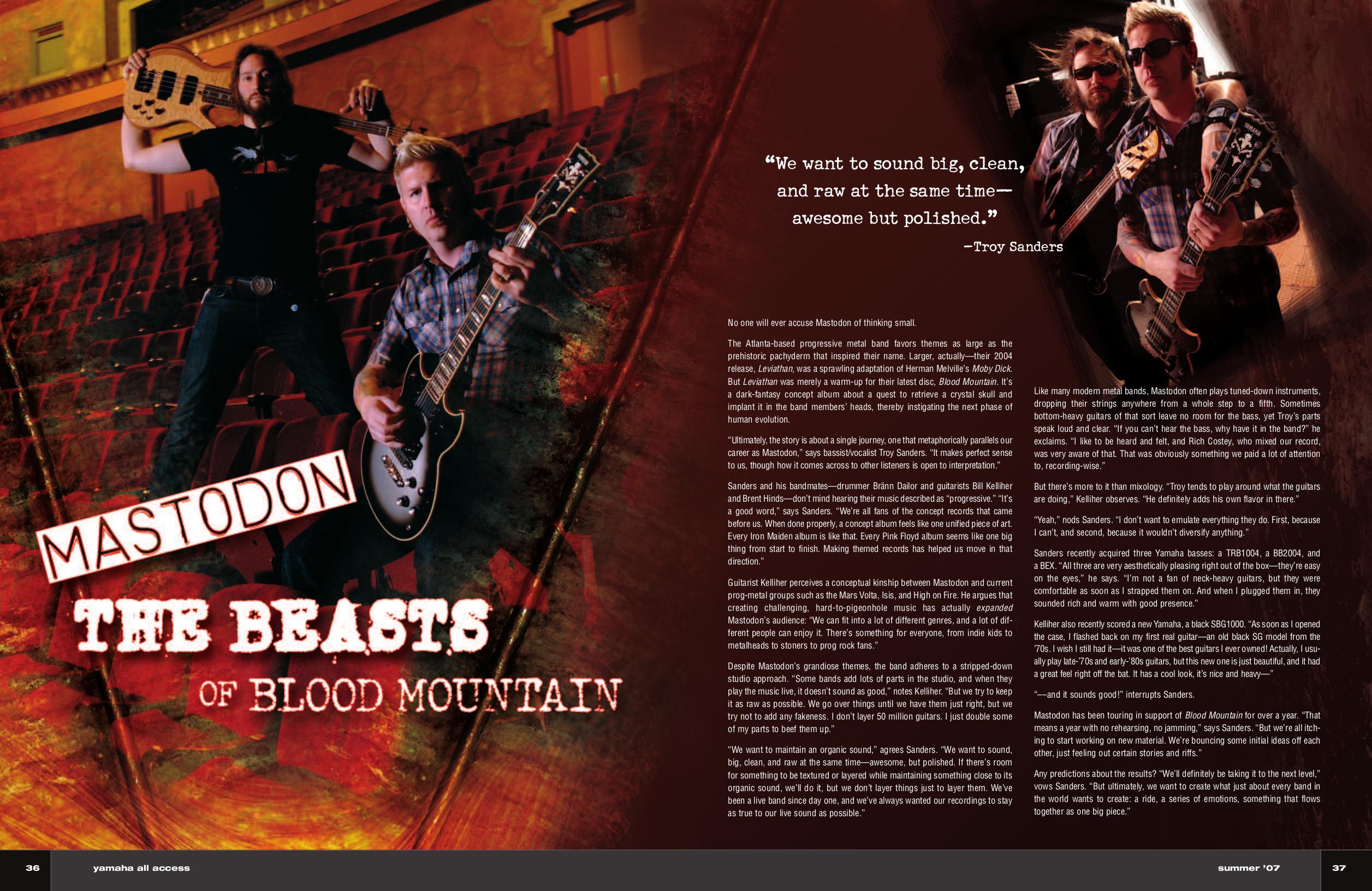 pdf for Yamaha Guitar SBG1000 manual