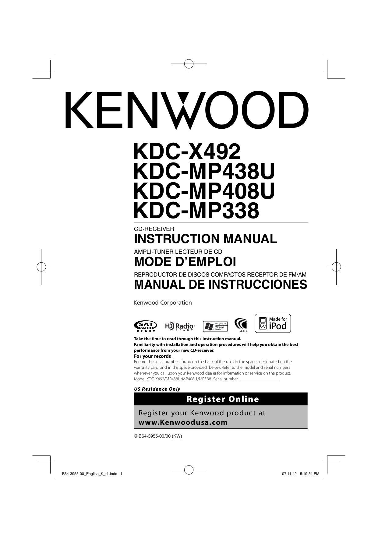 kenwood kdc bt838u manual daily instruction manual guides u2022 rh testingwordpress co kdc-bt838u manual
